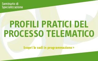 Profili pratici del processo telematico