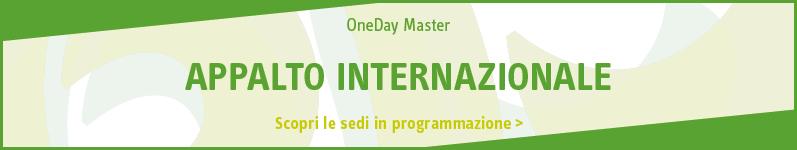 Appalto internazionale