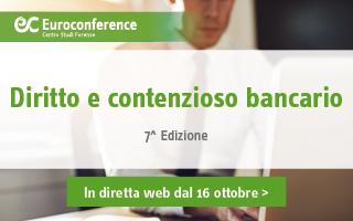 Diritto e contenzioso bancario