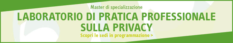 Laboratorio di pratica professionale sulla Privacy