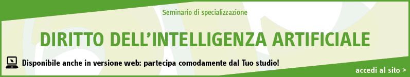 Diritto dell'intelligenza artificiale