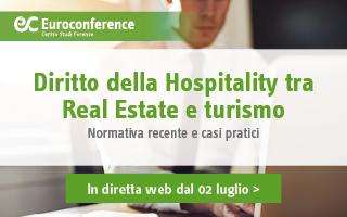 Diritto della Hospitality tra Real Estate e turismo